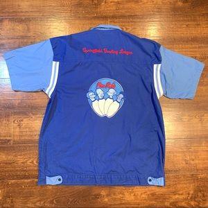 RARE The Simpsons Springfield Bowling League Shirt